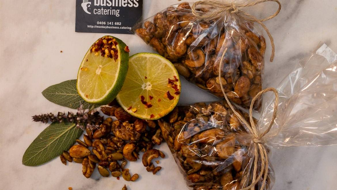 Chilli Lime Nuts (GF, DF, Ve)