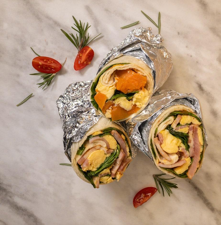 Breakfast Burrito  – Egg & Bacon