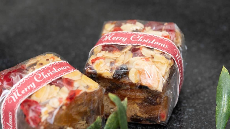 Mini Florentine Fruit Cakes
