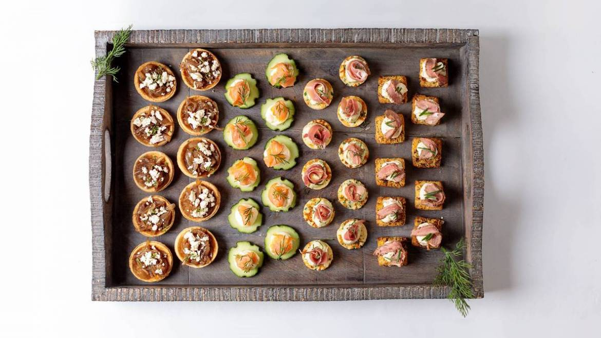 Cold Canape Platter