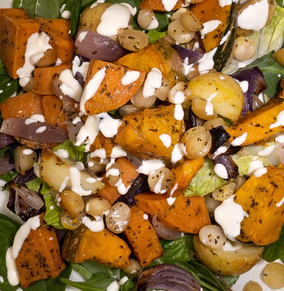 Salad Box – Large – Roast Veg (GF, DF, Ve)